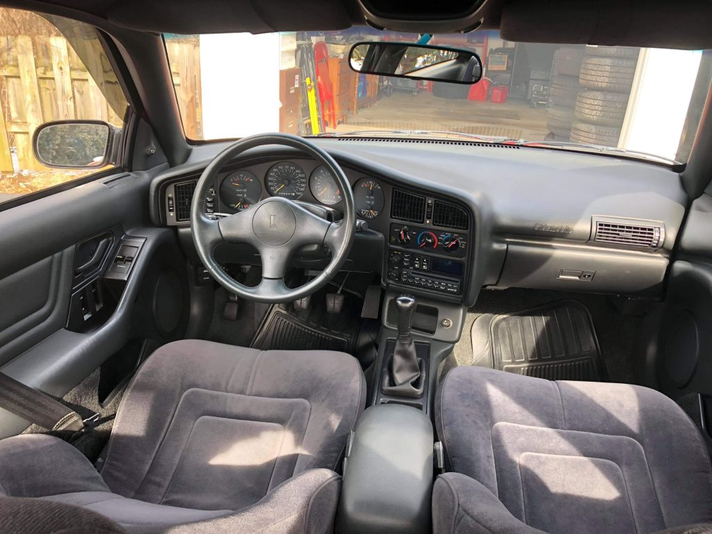 Achieva SCX interior