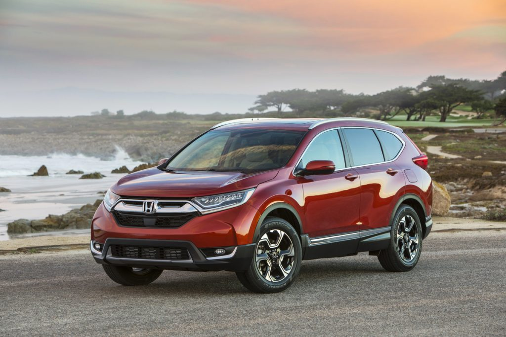 2019 Honda CR-V equipped with Honda Sensing