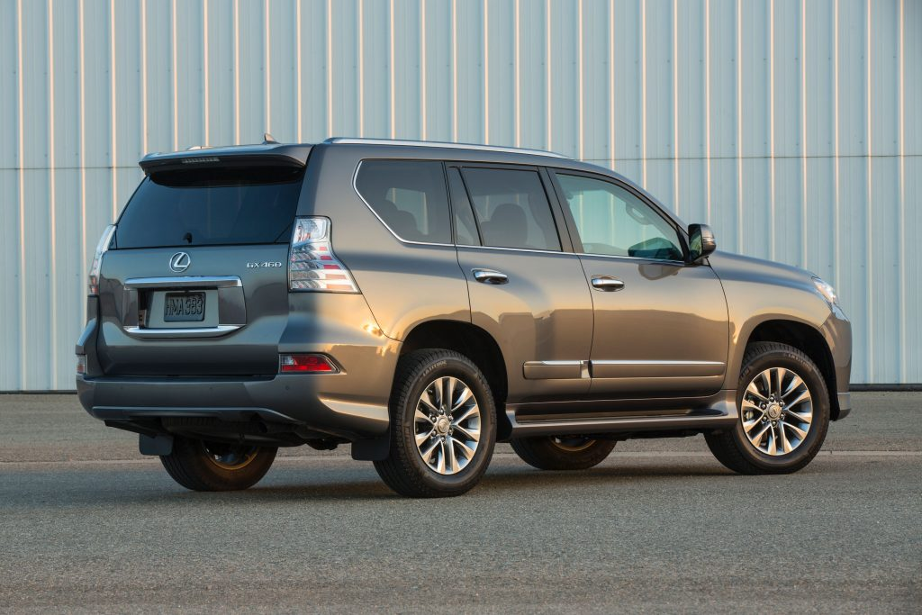 gray 2019 Lexus GX 460 luxury suv