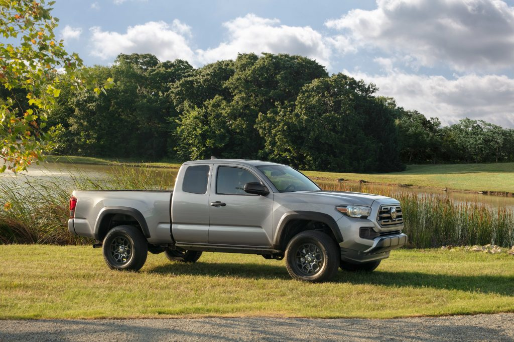 2019 Toyota Tacoma SX Package parked in a field