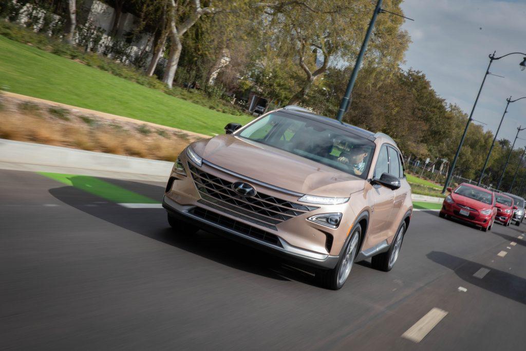 Hyundai Nexo Driving