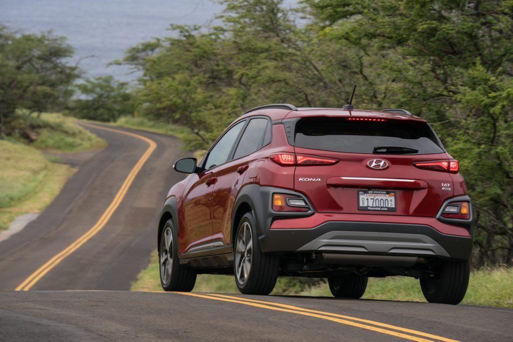 2020 Hyundai Kona compact crossover SUV Driving