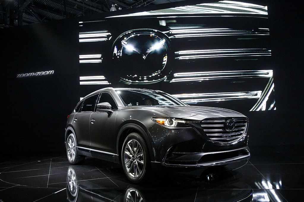 Mazda's CX-9 from the 2016 model year