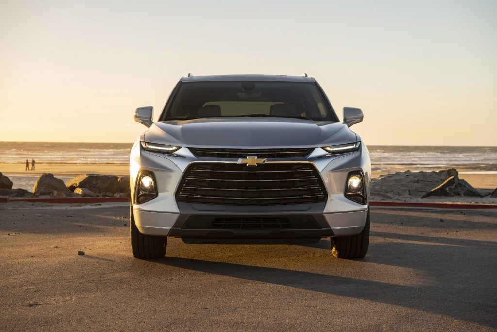 2019 Chevrolet Blazer Premier from the front