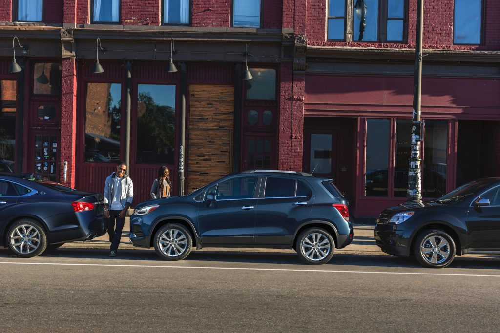 The Chevy Trax is dapper and teeny tiny.