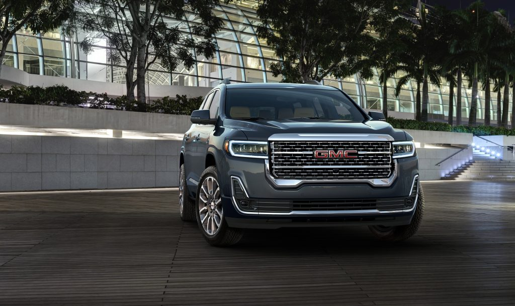 2020 GMC Acadia Denali is one of the most complained about GMC crossovers