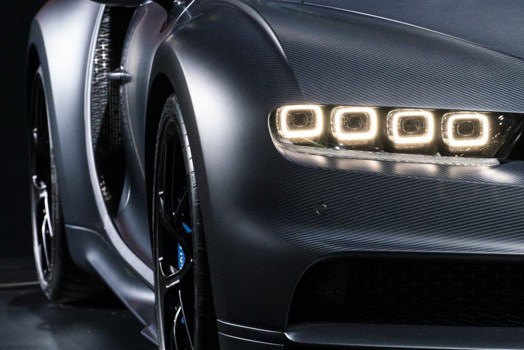 Bugatti headlights