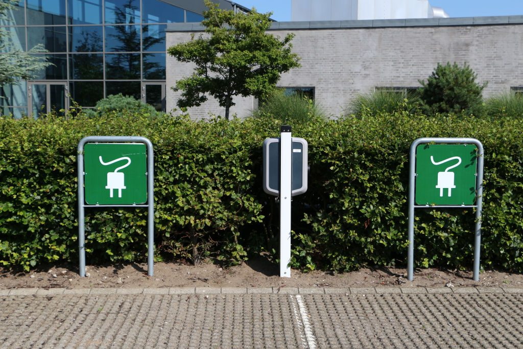 Daily Life In Denmark - Electric vehicles charging point