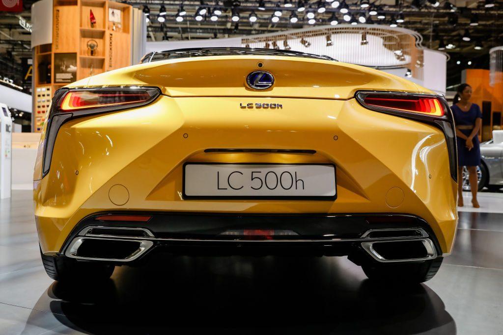 The 2018 Paris Motor Show - Lexus LC 500h hybrid