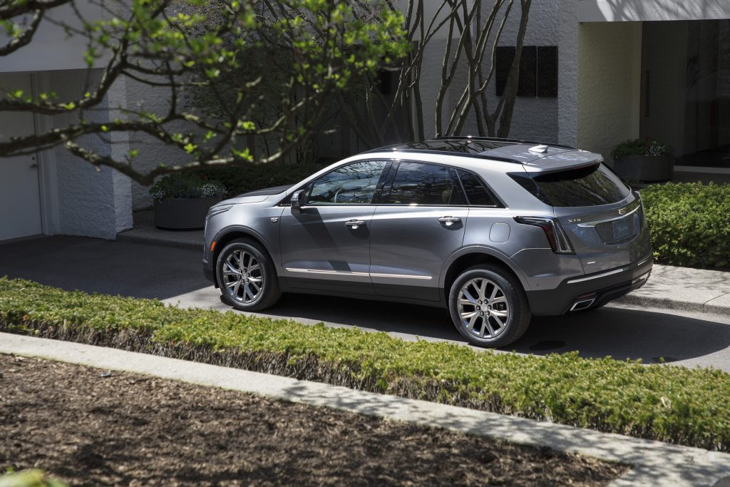 the 2020 XT5 Sport parked in a driveway