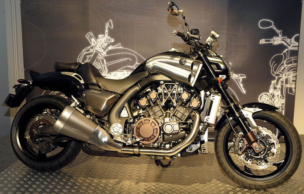 Yamaha unveils its VMAX motorcycle