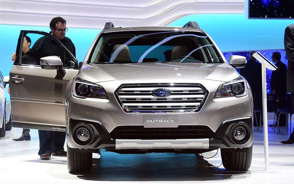 U.S. AUTO SHOW - 2016 Subaru Outback