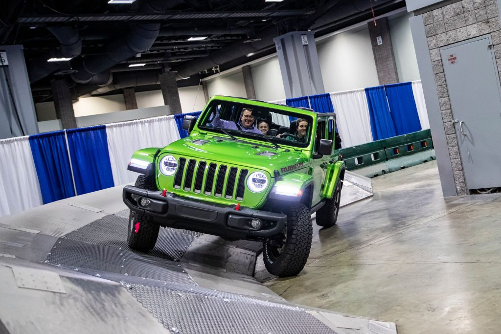 Washington Auto Show - Jeep Wrangler Rubicon