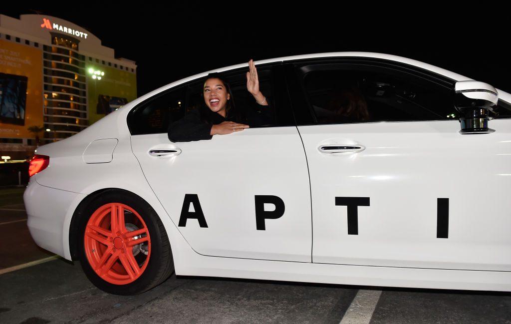 Aptiv self-driving car
