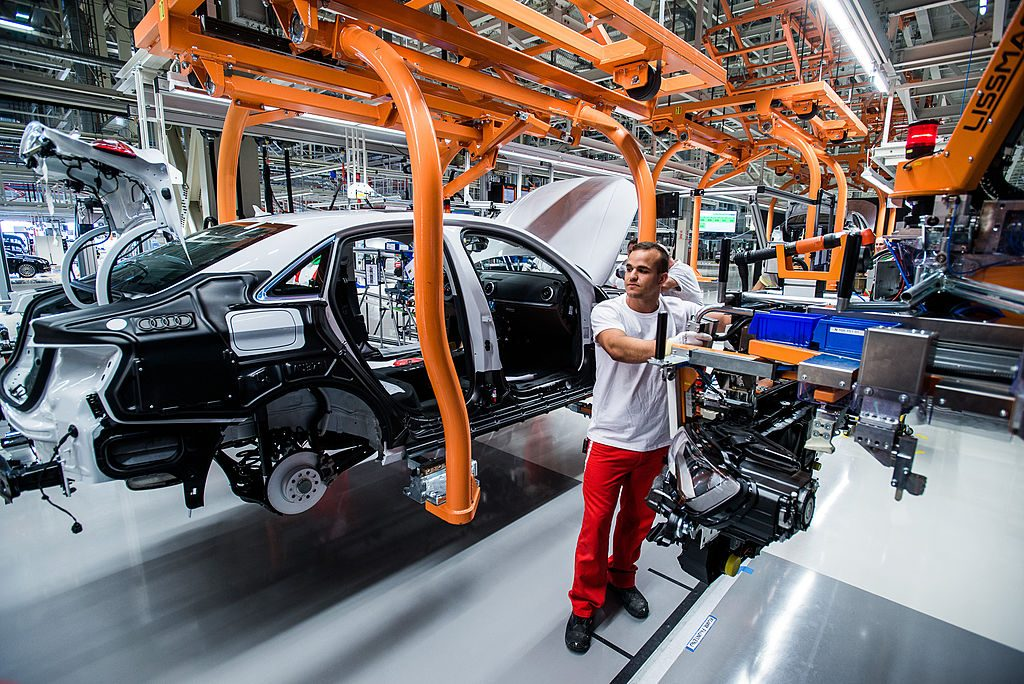 Tour Of Audi AG's Hungarian Factory