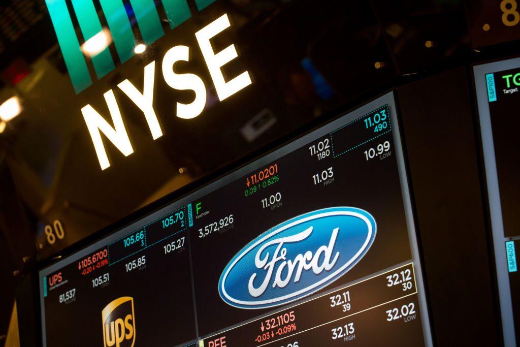 New York Stock Exchange - Ford Motor Co.
