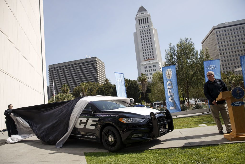 Ford New Hybrid Police Responder