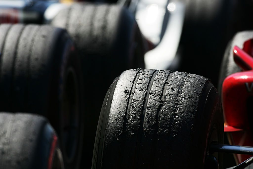 Used worn tires