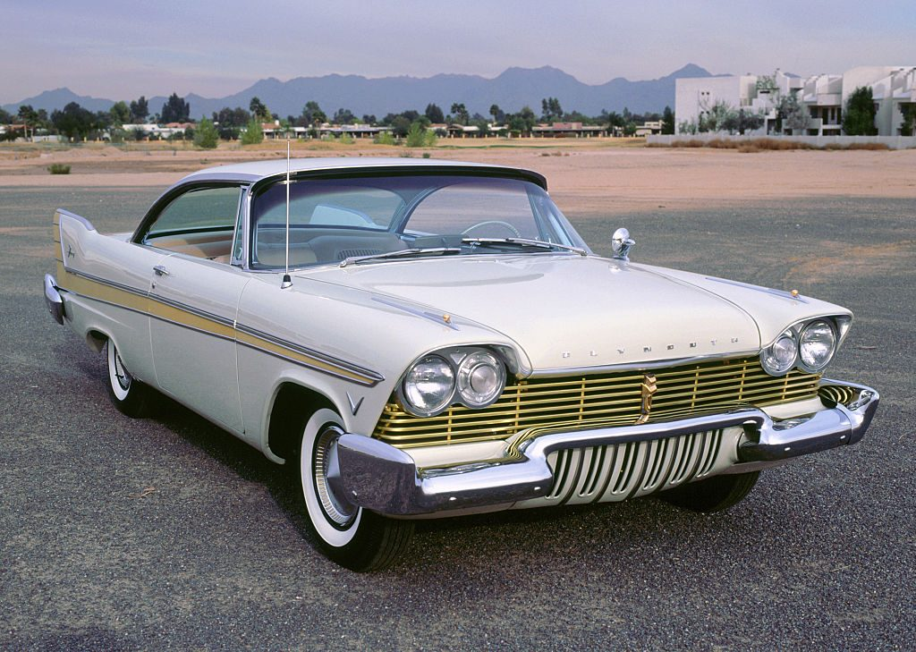 A restored 1957 Plymouth Fury