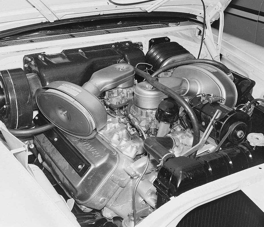 1957 Chrysler 300 Hemi Engine