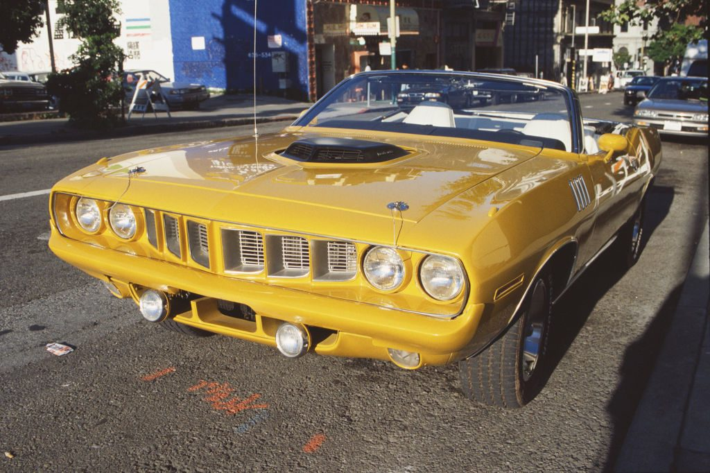 1971 Plymouth Barracuda convertible