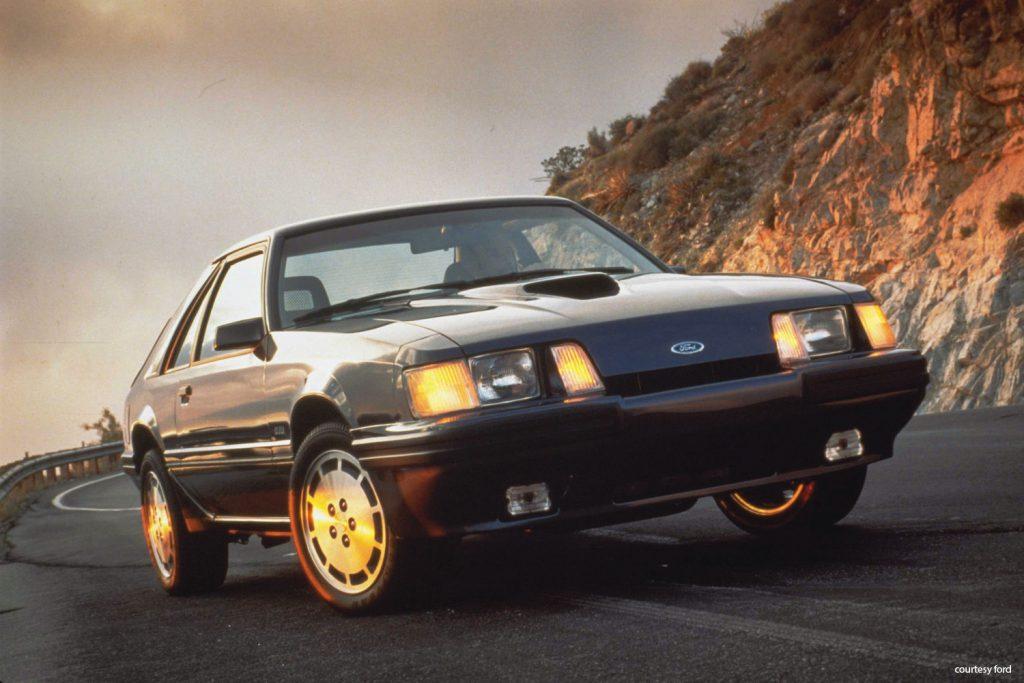 1984 Ford Mustang SVO