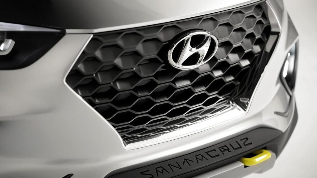 Hyundai Santa Cruz Concept Grille