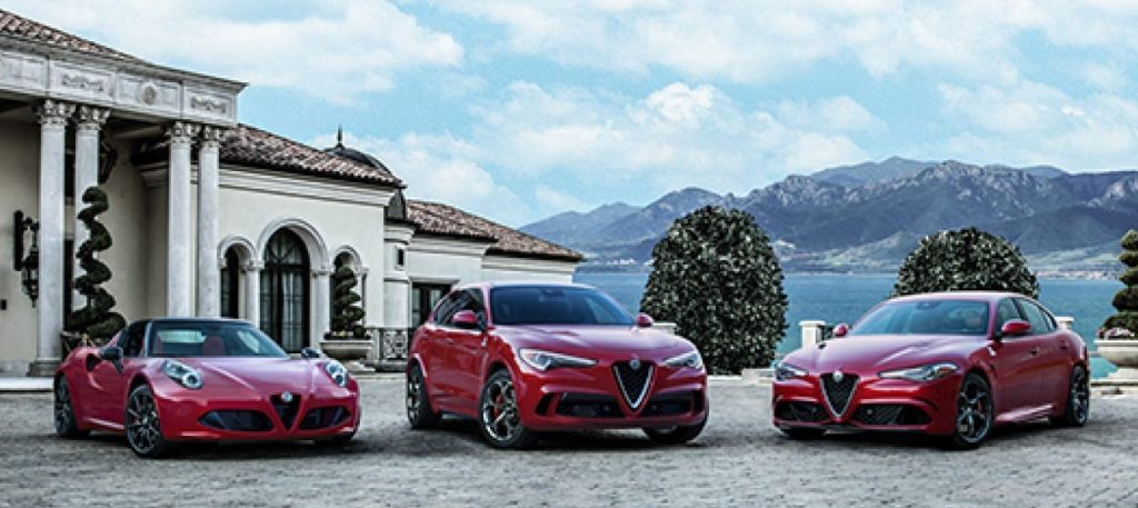 Alfa Romeo's lineup   FCA