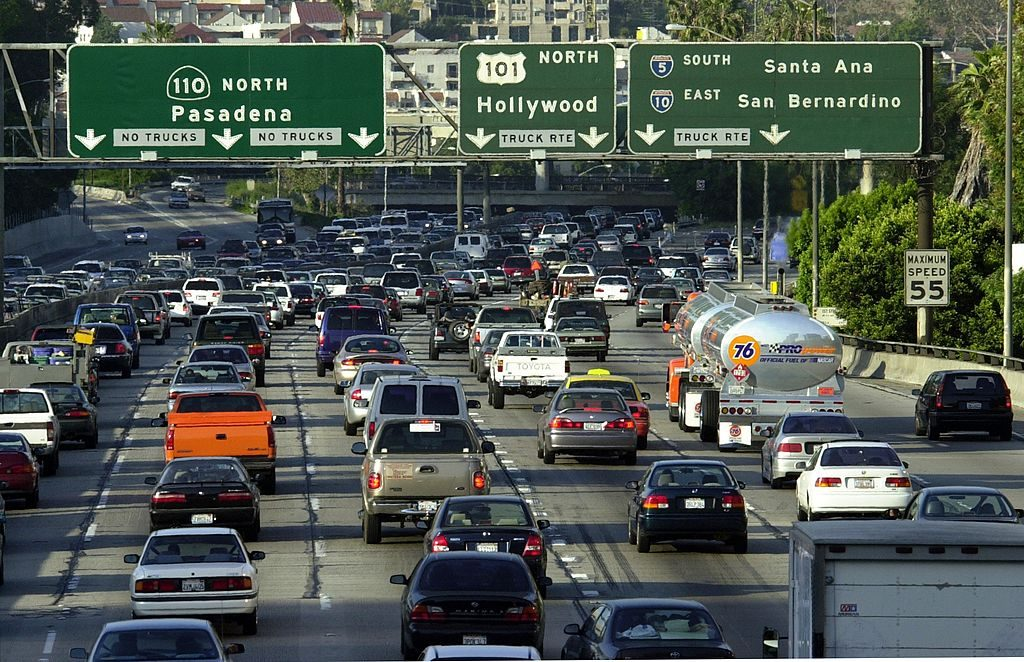 Cars for L.A. traffic