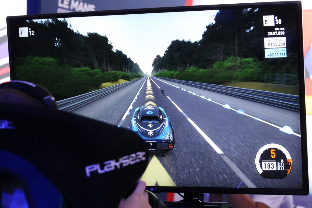 Driving video games