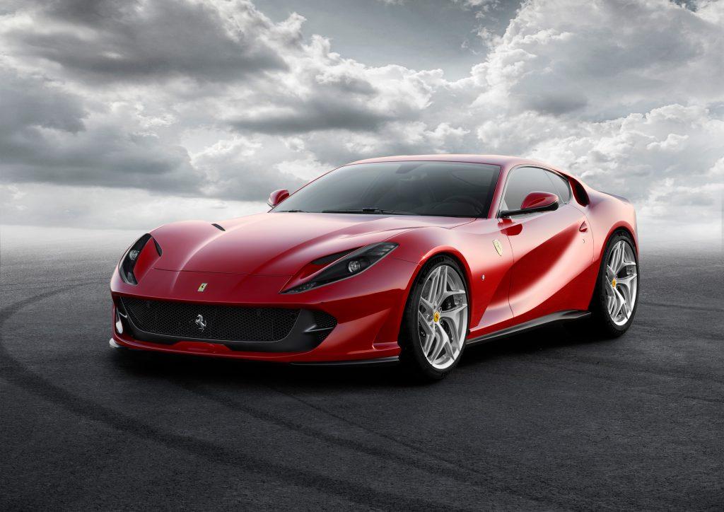Ferrari 812 Superfast in red