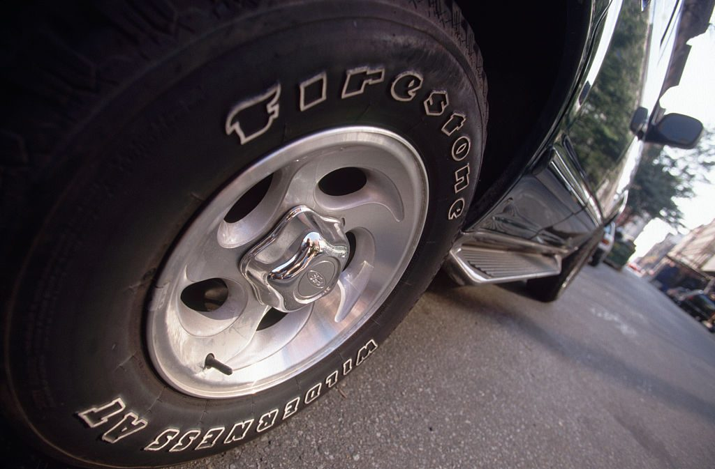 Replacement tires on Jeep