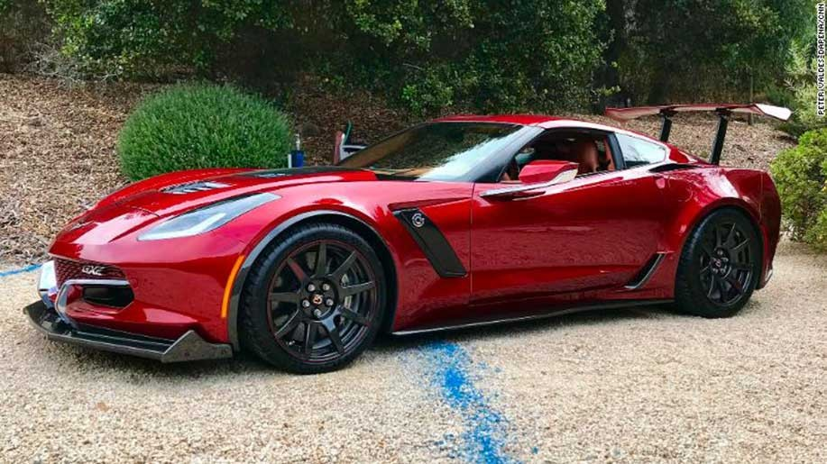 Genovation GXE Electric Corvette