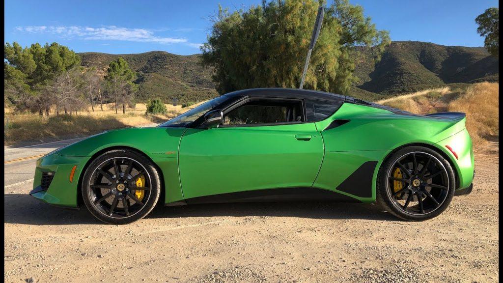 Green Lotus Evora GT
