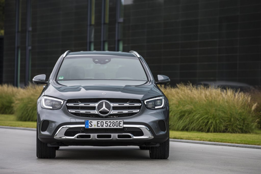 The GLC Hybrid has some of the best fuel economy in this luxury class