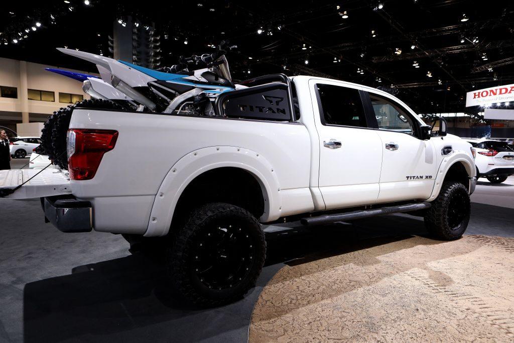 Nissan Titan pickup truck