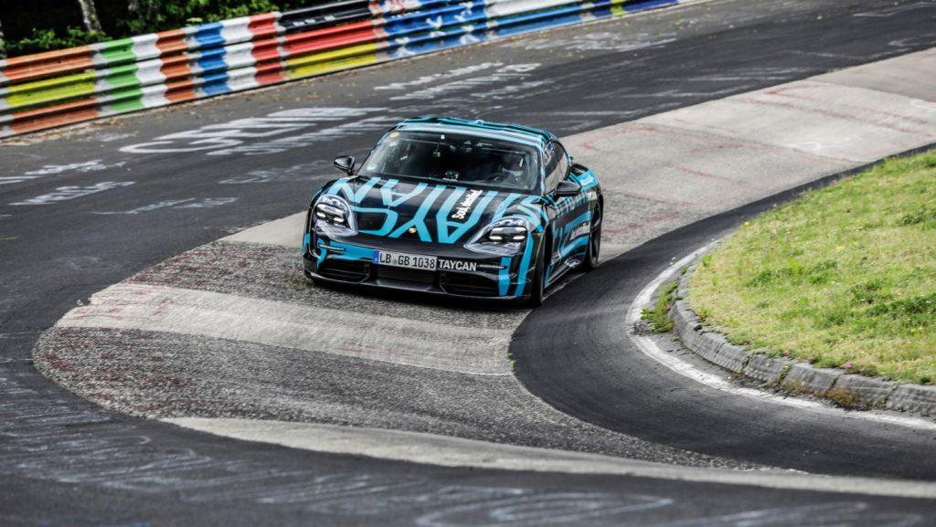 Porsche Taycan Nurburgring 2019-001