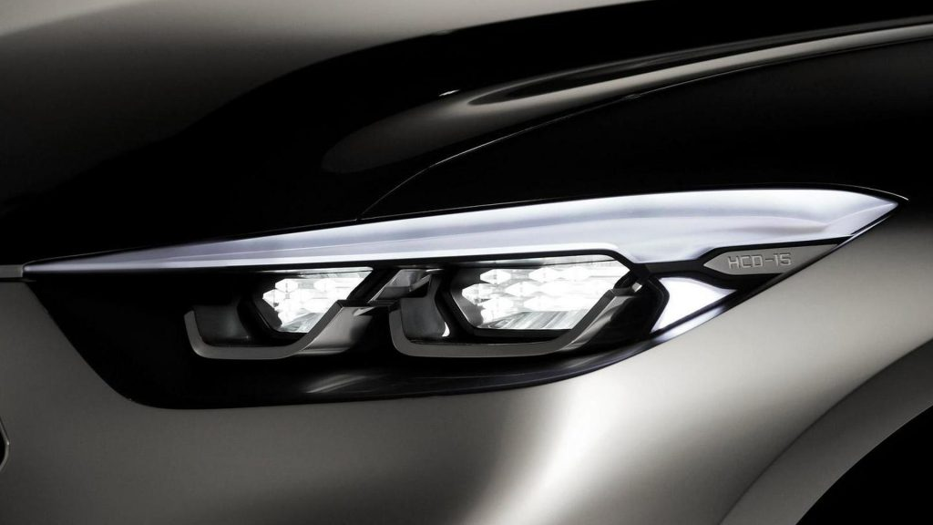 Hyundai Santa Cruz Concept Headlight
