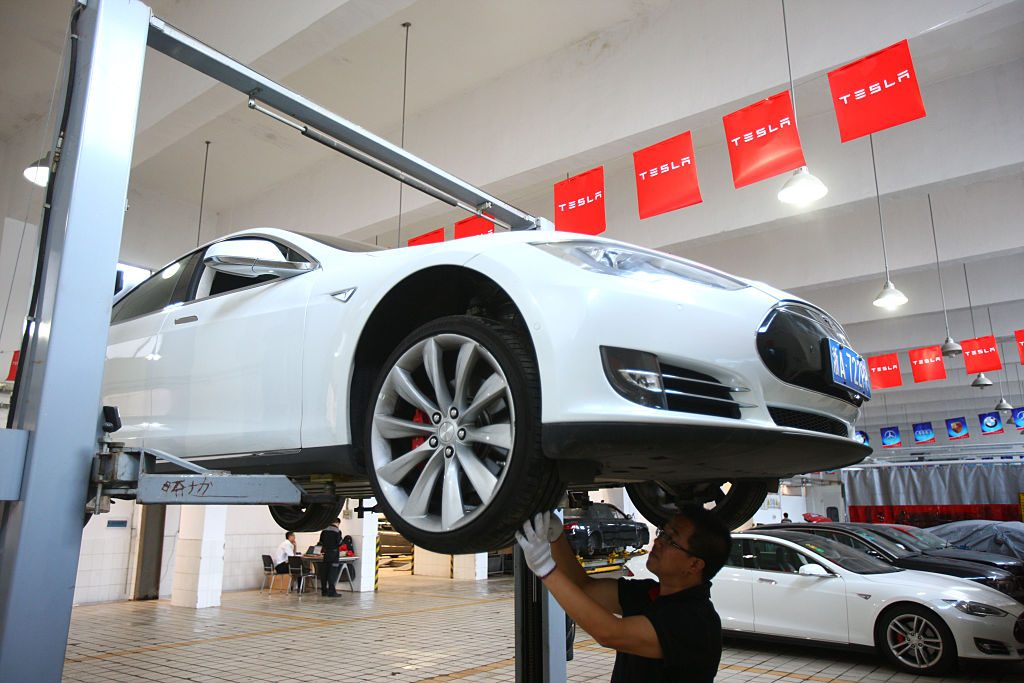 Tesla Sets Authorized Service Centers In China