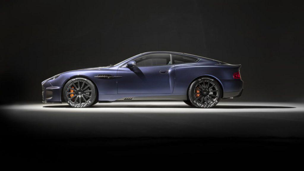 a concept photo of the Aston Martin vanquish