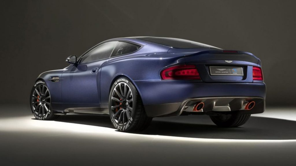Aston Martin Vanquish Re Released By Ian Callum