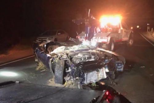 Kevin Hart's 1970 Barracuda Totaled In Crash