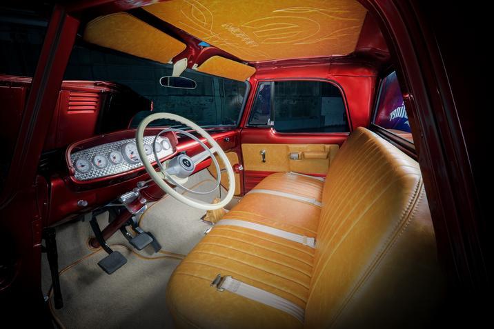 1968 Dodge D200 Lowliner Concept interior