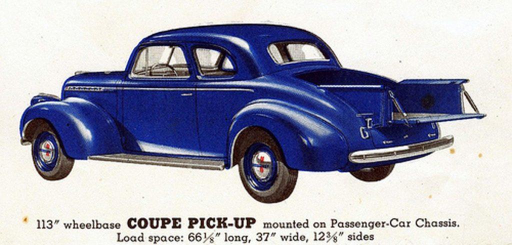 1940 Chevy Utility Car