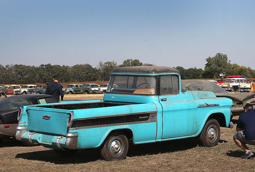 1956 Chevy Cameo Pickup | Getty