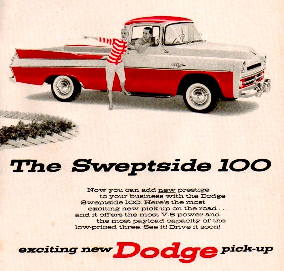 1957 Dodge Sweptside Pickup