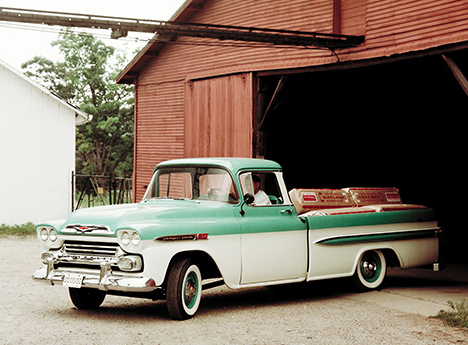 1958 Chevy Fleetside Pickup | Chevrolet