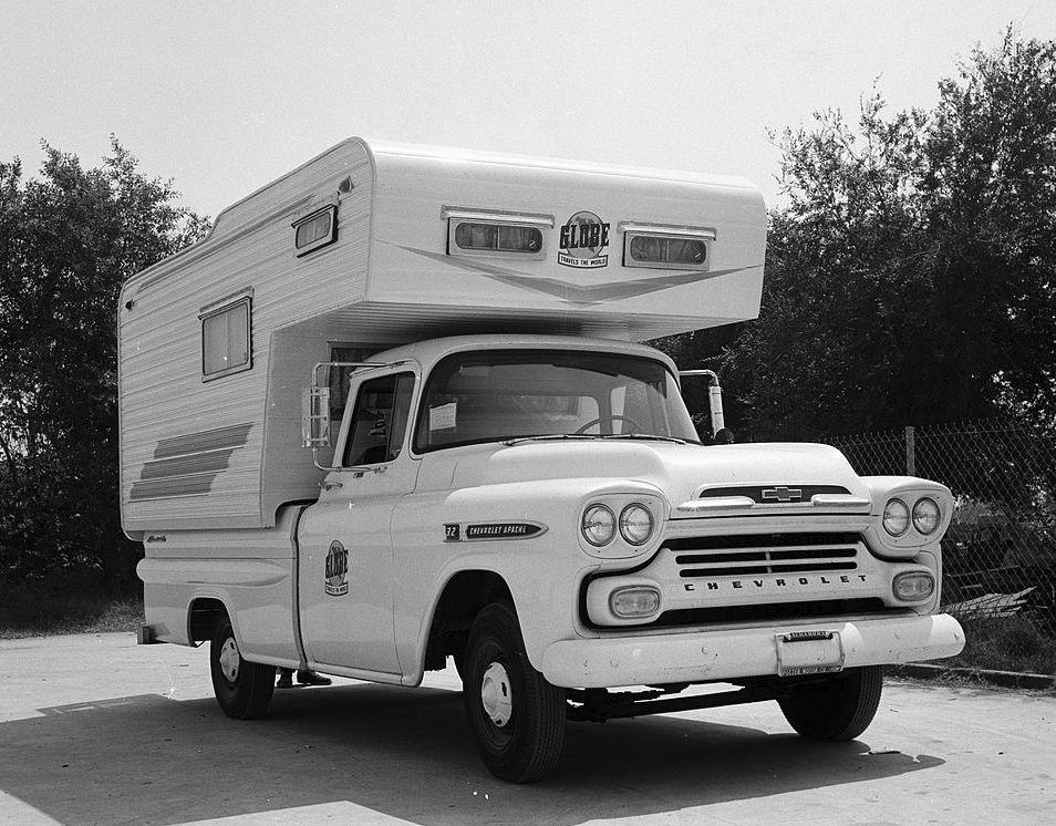 1959 Chevrolet Pickup - Globe Campmaster