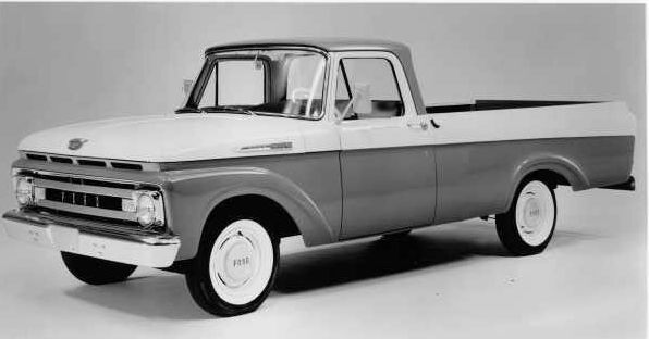 1961 Ford Unibody Truck-Ford