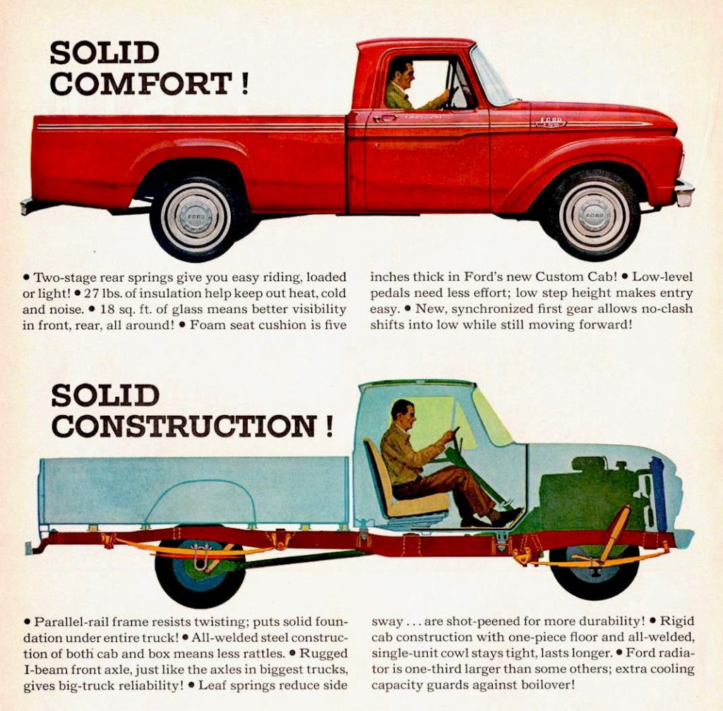 1963 Ford Wrongbed Pickup
